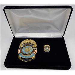 Office of Naval Intelligence 2009 Inauguration Badge  (125355)