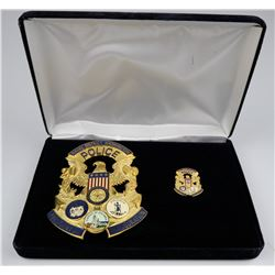 2009 Naval District Inauguration Badge    (125348)