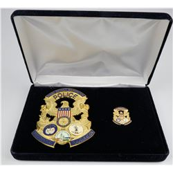 2009 Naval District Inauguration Badge    (125351)