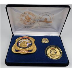 58th Inauguration Badge Metro Police  (125344)