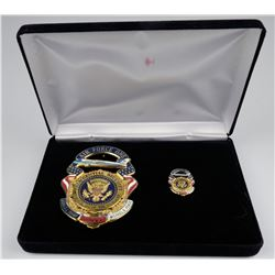 Air Force One President. Inauguration Badge   (125353)