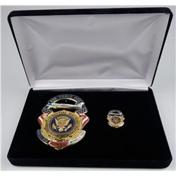 Air Force One President. Inauguration Badge   (125354)