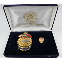 Marine One 2005 Inauguration Badge  (125358)