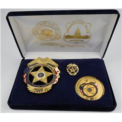 Metro Police DC 56th Inaugural Badge  (125359)