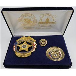 Metro Police DC 56th Inaugural Badge  (125356)