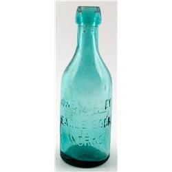 Soda Bottle / Owen Casey / Eagle Soda Works.  (30525)