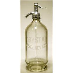 """Seltzer Bottle / """" Crystal """"  (106269)"""