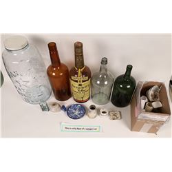 Antique Bottle Lot with Cal Drugstores  (126720)