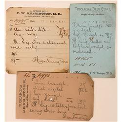 Tuscarora Drug Store Ephemera  (113429)