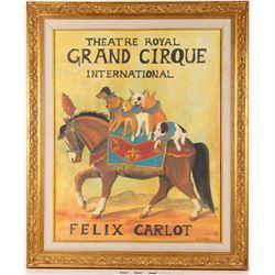 Grand Cirque Print  (122303)