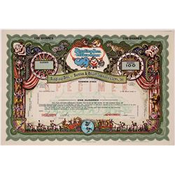 Ringling Bros. and Barnum & Bailey Combined Shows, Inc. Specimen Stock   (126355)