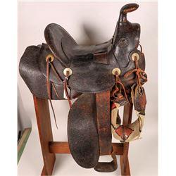 H. Messing & Son Vintage Saddle  (125777)