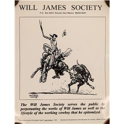 Will James Society  Poster  (125601)