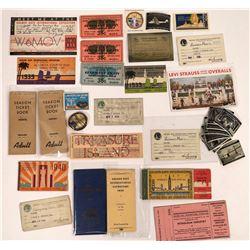 Golden Gate International Exposition Ephemera Collection  (125740)