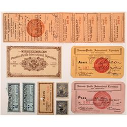 Pan Pacific Exposition Passes & Tickets  (125827)