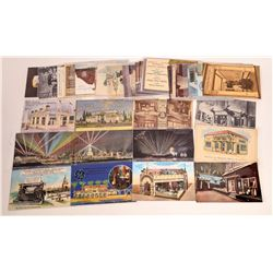 Various Ad Postcards for Pan Pacific Exposition  (125831)