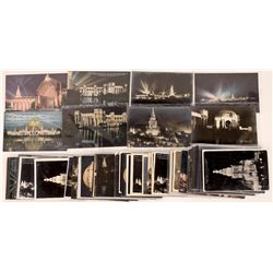 Night Scene Postcards of Pan Pacific Expo  (126497)