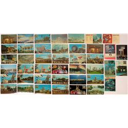 New York World's Fair 1964 Postcard Collection - 42 pcs  (126207)