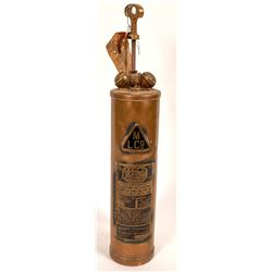 Wilbur Brass Fire Extinguisher  (125984)