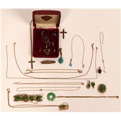Gold Jewelry 10K  (121233)