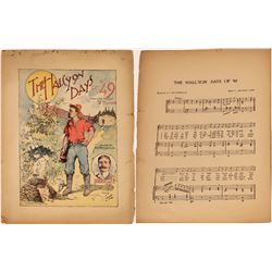 Art of Sheet Music: 49'er Gold Rush  (124705)