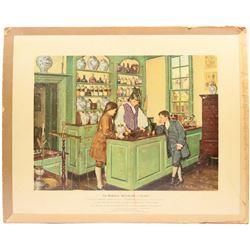 Apothecary Prints in American History by Artist Robert Thom  (125590)