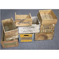 Old Wooden Crates  (120957)