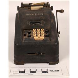Remington Rand 10 Key Calculator  (126548)