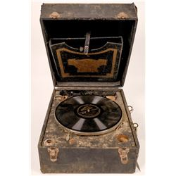 Antique Cecilian Melophonic Phonograph Turntable  (126542)