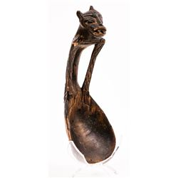 Amazonian Wood Figurine, c1900  (126952)