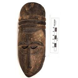 African Wooden IbIbio Mask  (124653)