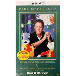 Paul McCartney Signed Poster  (121289)