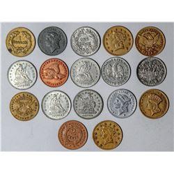 Rare Mini Coin Collection  (121337)