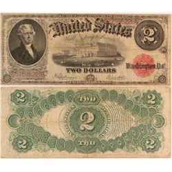 Series of 1917 U.S. $2 Note  (124437)