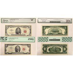 $2 & $5 U.S. Star Notes  (124434)