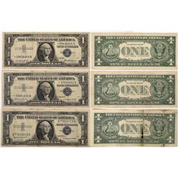 Star Note Silver Certificates  (124447)