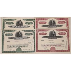 United States Banknote Corporation Stock Certificates  (107987)
