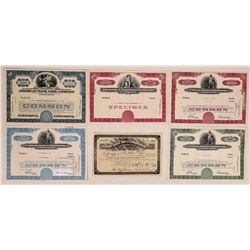 Bank Note Company Stock Certificate Group  (126287)