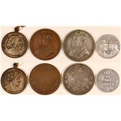 Theatre Medals, Etc (4)  (127072)