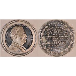 Pastor Medal, 1890  (127062)