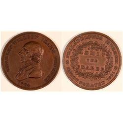 Peale Medal, 1821  (127061)