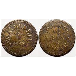 W.A. McNeil token  (119538)