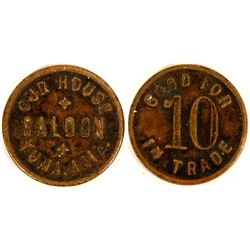 Yuma, Arizona, Our House Saloon Trade Token  (119957)