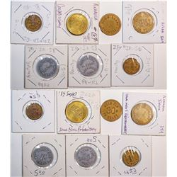 Iowa Prison Tokens  (119357)