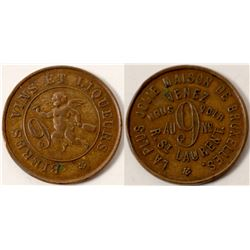La Plus Jolie Brothel Token  (104133)