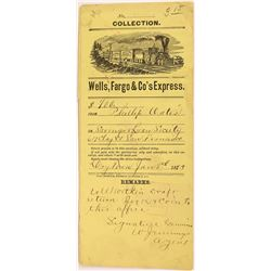 Drytown, Wells Fargo & Co's Express Collection Envelope  (123723)