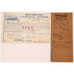 "California Express Wells Fargo Gold Rush - ""California Express"" and Collection Envelope  (123722)"