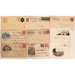 Los Angeles Advertising Covers & Postcards  (112655)