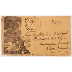 Hutchings Mining Scene 1850s Cover  (123764)