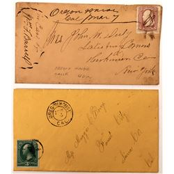 Two Oregon House Covers - Nice Group  (123815)